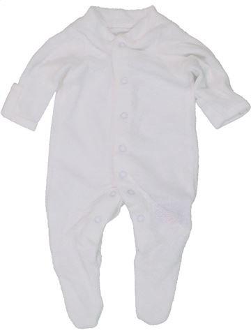 Pyjama 1 pièce unisexe MOTHERCARE gris prématuré été #1447560_1