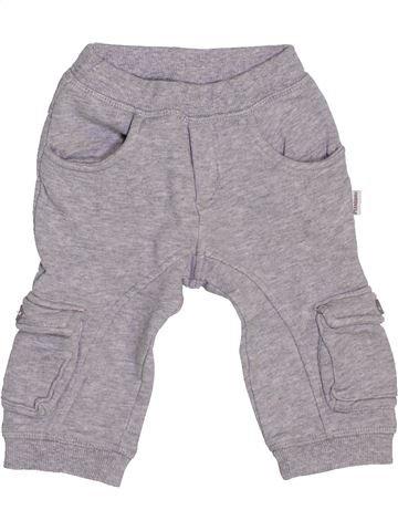 Pantalon garçon P'TIT BISOU gris 9 mois hiver #1447767_1