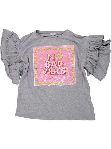 Camiseta de manga corta niña RIVER ISLAND violeta 10 años verano #1447887_1