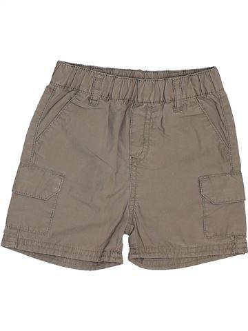 Short-Bermudas niño GRAIN DE BLÉ marrón 12 meses verano #1448060_1