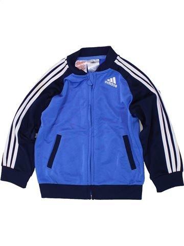 Sportswear garçon ADIDAS bleu 2 ans hiver #1448382_1