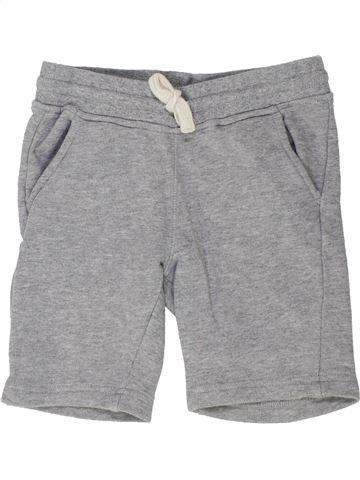 Short-Bermudas niño MONOPRIX gris 4 años verano #1448400_1