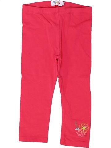 Legging niña LA COMPAGNIE DES PETITS rojo 2 años invierno #1448491_1