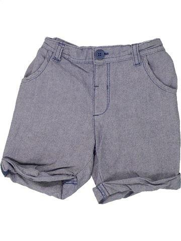 Short - Bermuda garçon MATALAN gris 18 mois été #1448539_1