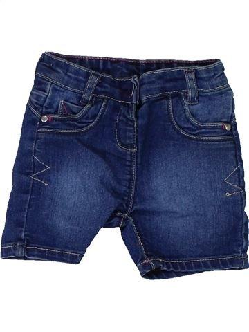 Short - Bermuda garçon MATALAN bleu 12 mois été #1448560_1