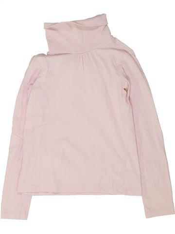 T-shirt col roulé fille VERTBAUDET violet 8 ans hiver #1448642_1