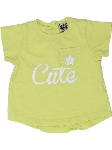 Camiseta de manga corta niña TAPE À L'OEIL verde 6 meses verano #1448691_1