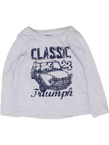 Camiseta de manga larga niño ORCHESTRA blanco 3 años invierno #1448835_1