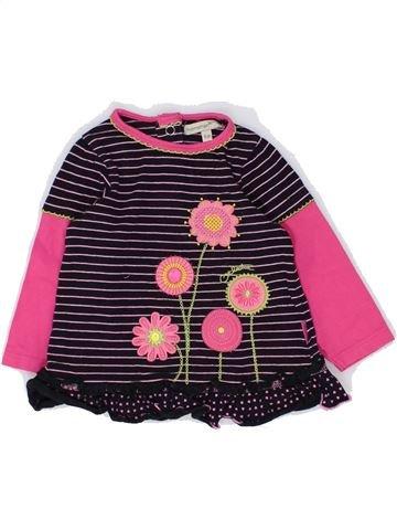 T-shirt manches longues fille PREMAMAN rose 6 mois hiver #1448920_1