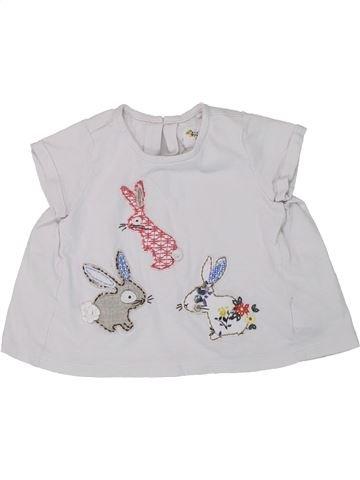 T-shirt manches courtes fille NEXT blanc 12 mois été #1448975_1