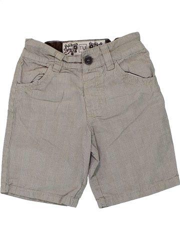 Short - Bermuda garçon TU gris 3 ans été #1449025_1