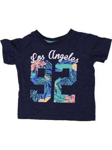 T-shirt manches courtes fille PRIMARK bleu 18 mois été #1449073_1
