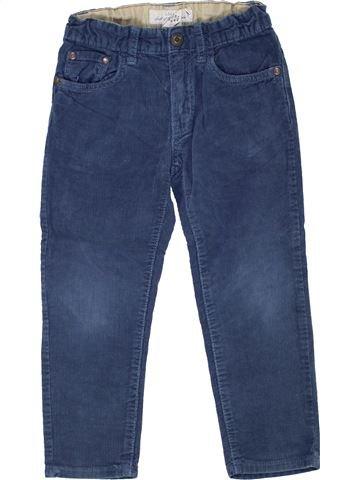 Pantalón niño H&M azul 4 años invierno #1449079_1