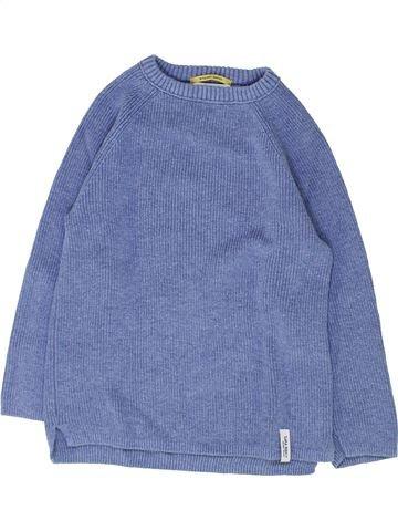 Pull garçon ZARA bleu 6 ans hiver #1449215_1