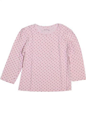 Camiseta de manga larga niña KIABI rosa 4 años invierno #1449367_1