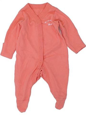 Pyjama 1 pièce fille NUTMEG orange naissance été #1449502_1
