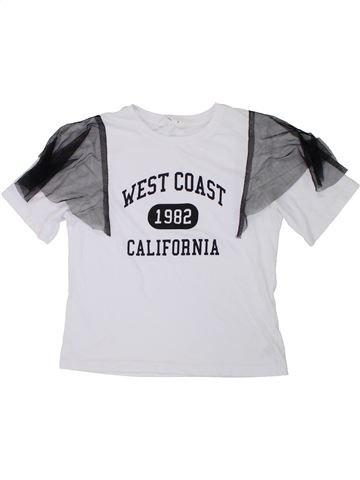 T-shirt manches courtes fille CANDY COUTURE blanc 9 ans été #1449534_1