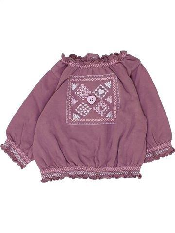 Camiseta de manga larga niña TOUT COMPTE FAIT marrón 3 meses invierno #1449558_1