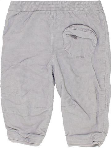 Pantalon fille OKAIDI gris 12 mois hiver #1449583_1