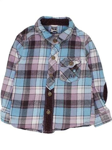 Chemise manches longues garçon TAPE À L'OEIL gris 2 ans hiver #1449641_1