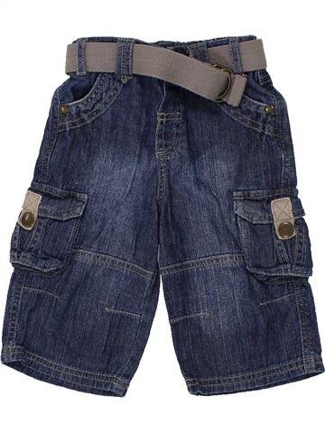 Short - Bermuda garçon MATALAN bleu 9 mois été #1450011_1