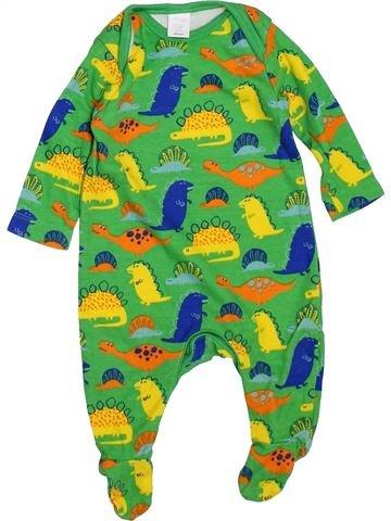 Pyjama 1 pièce garçon MINI CLUB vert naissance hiver #1450100_1