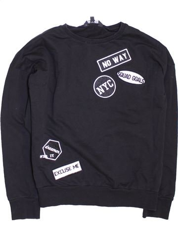 Sweat fille CANDY COUTURE noir 10 ans hiver #1450383_1