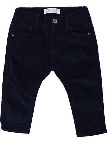 Pantalon garçon ZARA noir 9 mois hiver #1450844_1