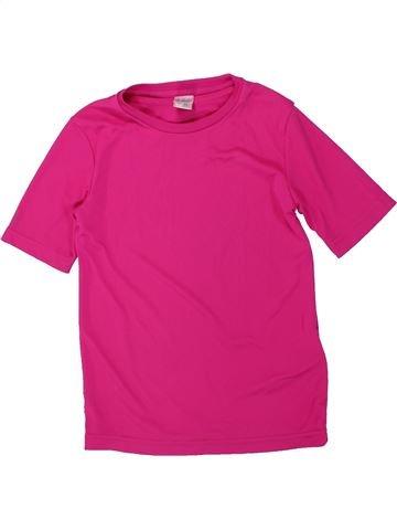 T-shirt manches courtes fille DÉCATHLON rose 8 ans été #1451771_1