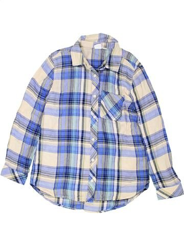 Chemise manches longues garçon GAP blanc 8 ans hiver #1451872_1