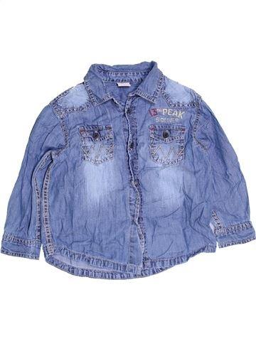 Chemise manches longues garçon S.OLIVER bleu 4 ans hiver #1452196_1