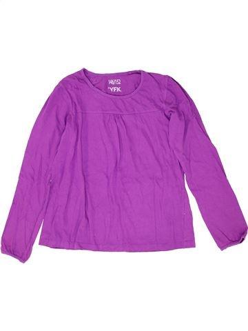 T-shirt manches longues fille YFK violet 12 ans hiver #1452298_1
