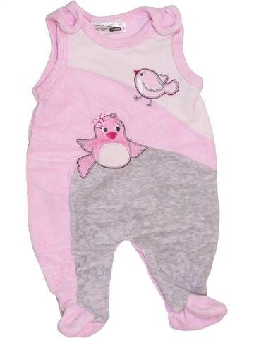 Pijama de 2 piezas niña ERGEE rosa 0 meses invierno #1452374_1