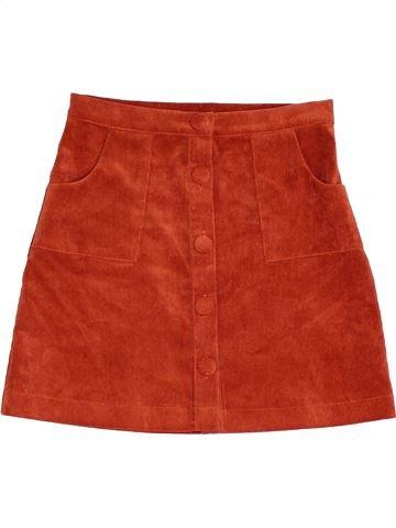 Jupe fille MARKS & SPENCER rouge 9 ans hiver #1452608_1