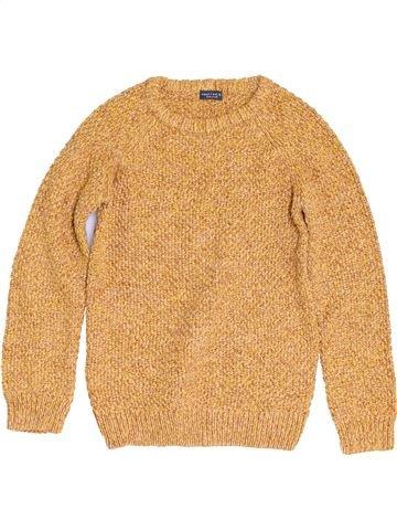 Pull garçon NEXT orange 8 ans hiver #1452655_1