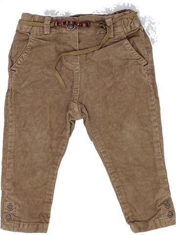 Pantalón niña ZARA marrón 9 meses invierno #1452713_1