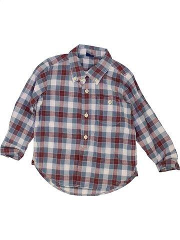 Chemise manches longues garçon GAP gris 3 ans hiver #1452884_1