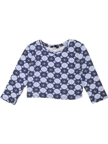 T-shirt manches longues fille CANDY COUTURE gris 9 ans hiver #1453044_1