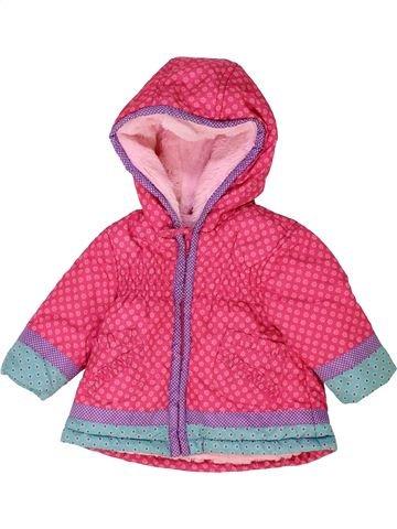 Abrigo niña BLUEZOO rosa 3 meses invierno #1453067_1