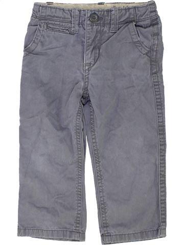 Pantalon garçon GAP gris 2 ans hiver #1453137_1