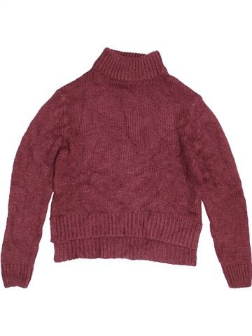 Pull fille NEW LOOK marron 9 ans hiver #1453248_1