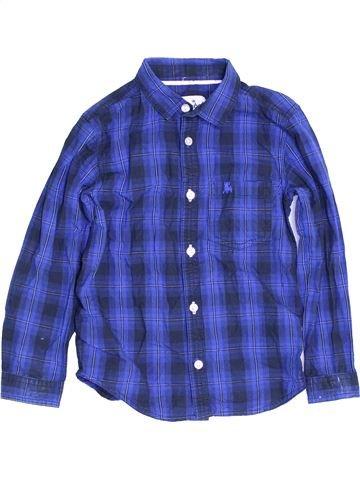 Chemise manches longues garçon PRIMARK bleu 6 ans hiver #1453379_1