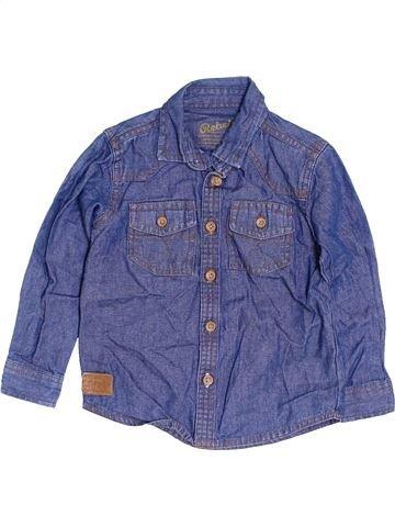 Chemise manches longues garçon PRIMARK bleu 3 ans hiver #1453391_1
