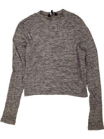 Camiseta de manga larga niña NEW LOOK gris 14 años invierno #1453452_1