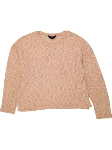 Pull fille NEW LOOK beige 15 ans hiver #1453586_1