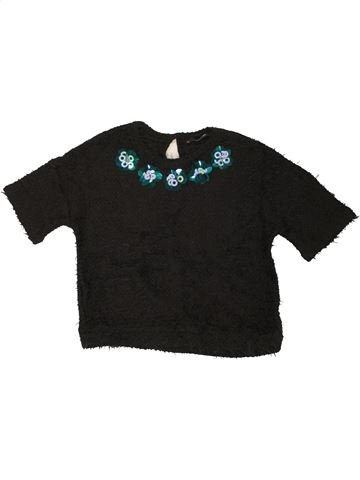 Pull fille GEORGE noir 6 ans hiver #1453701_1