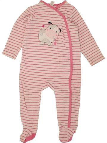 Pijama de 1 pieza niña C&A rosa 3 años invierno #1453752_1