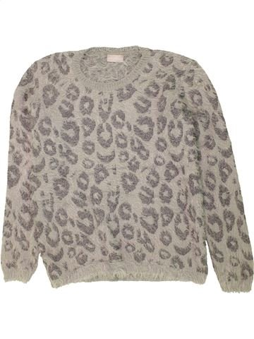 Pull fille MATALAN gris 13 ans hiver #1453758_1