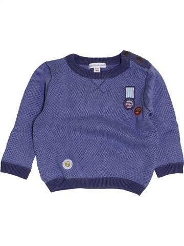 jersey niño VERTBAUDET azul 6 meses invierno #1453842_1