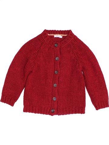 Chaleco niña BOUT'CHOU rojo 2 años invierno #1453880_1